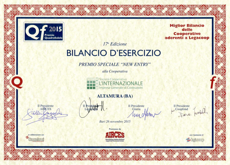 Premio Quadrofedele 2015